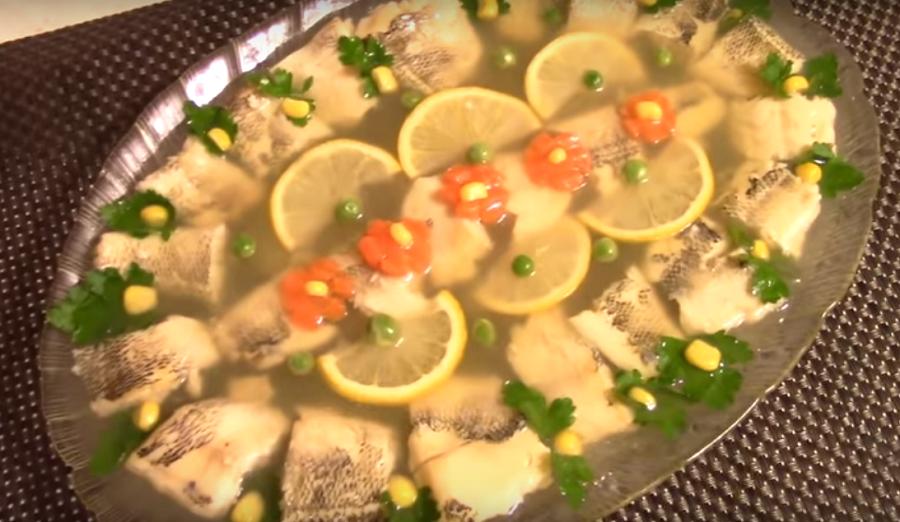 Заливное из рыбы-просто, вкусно и празднично