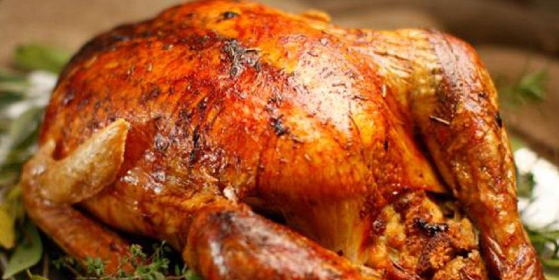 Курица на соляной подушке-невероятная вкуснятина