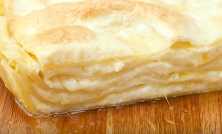 """Вкуснейший осетинский пирог с сыром """"Сабурани"""""""