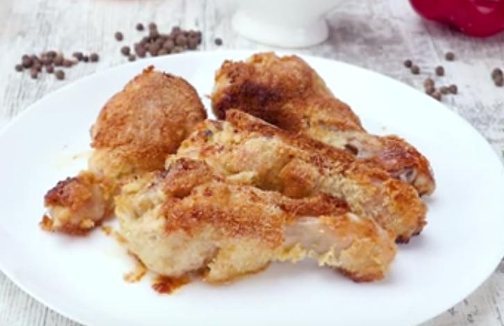 Обалденная курица в кокосовой стружке