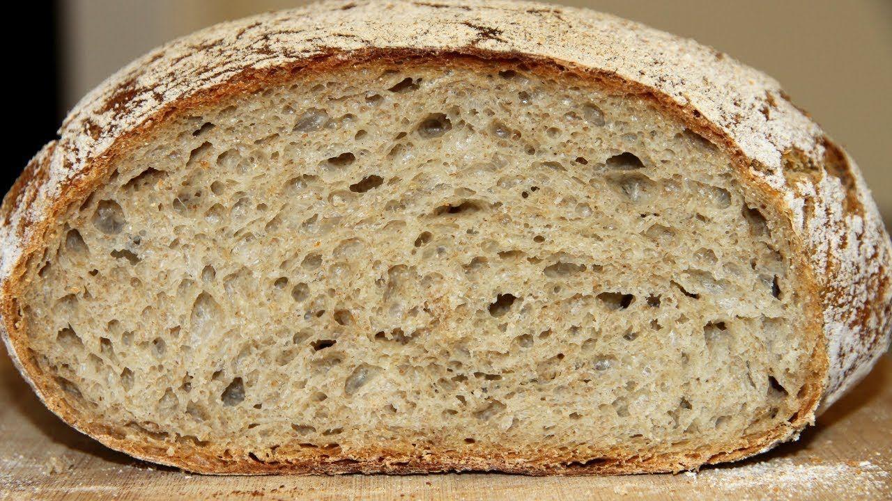 Ржаной хлеб без замеса (вымеса)