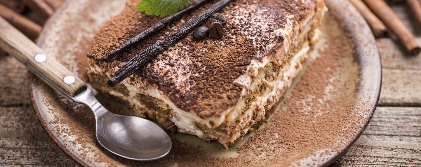 """Быстрый """"Тирамису""""-вкусный десерт к обеду"""