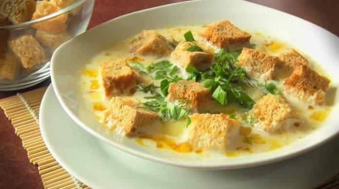 Самый вкусный сырный суп: после праздников