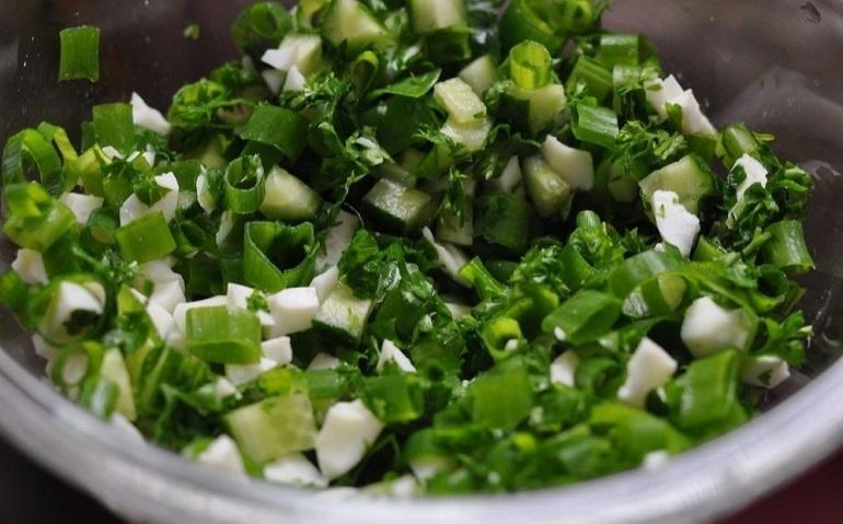 Самый лучший салат из зеленого лука: и в пир, и в мир