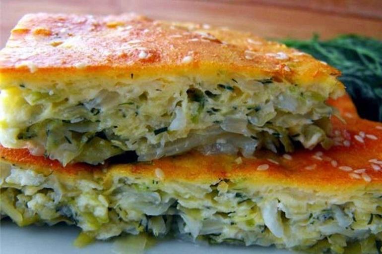 Самый вкусный заливной пирог с капустой: быстрого поедания