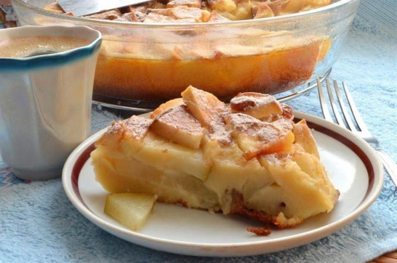 Творожный пирог с яблоками: вкусная выпечка на каждый день