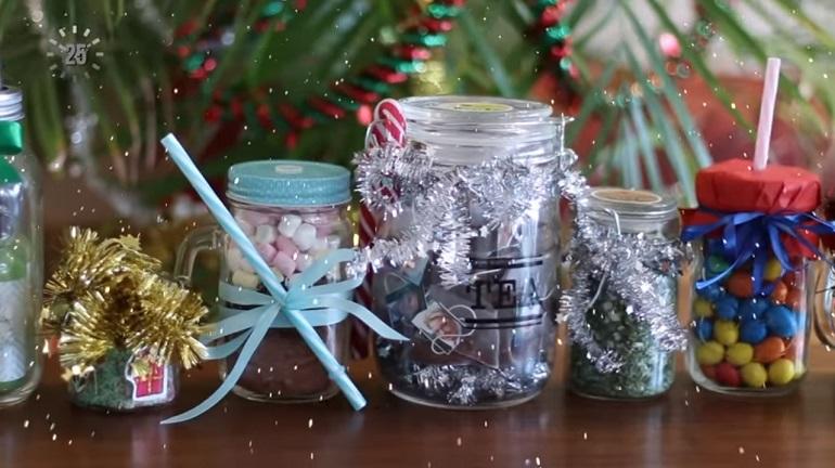 Подарки в банке: 10 недорогих и креативных вариантов на Новый год
