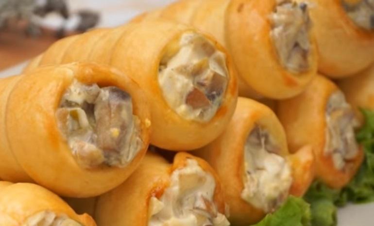 Потрясающая закуска с грибами к Новому году: не проходите мимо