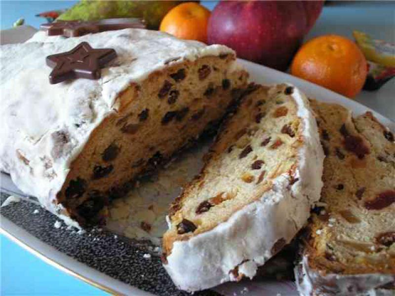Штолен-традиционный рождественский кекс