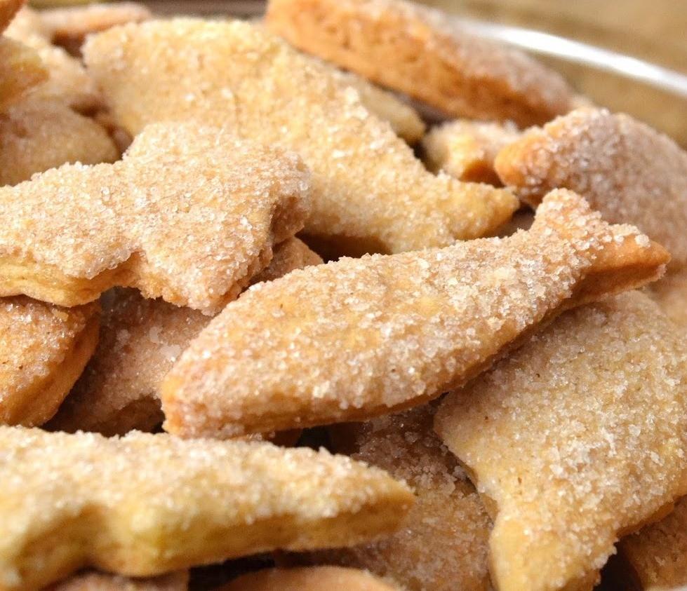 Сливочное печенье из простых ингредиентов-невероятно вкусное