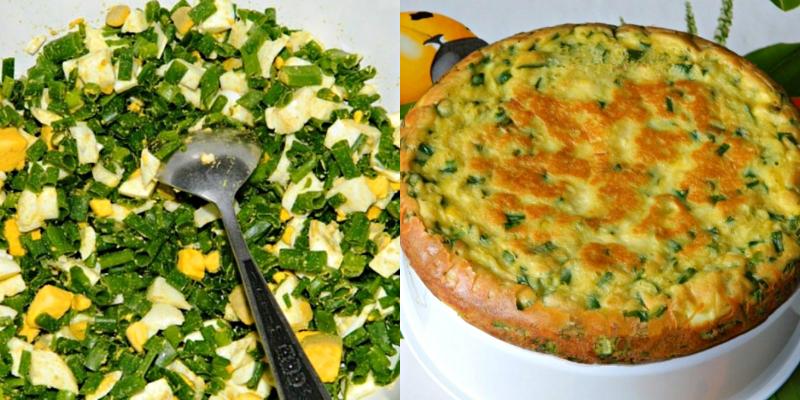 Готовим в мультиварке: вкусный пирог с яйцами и луком