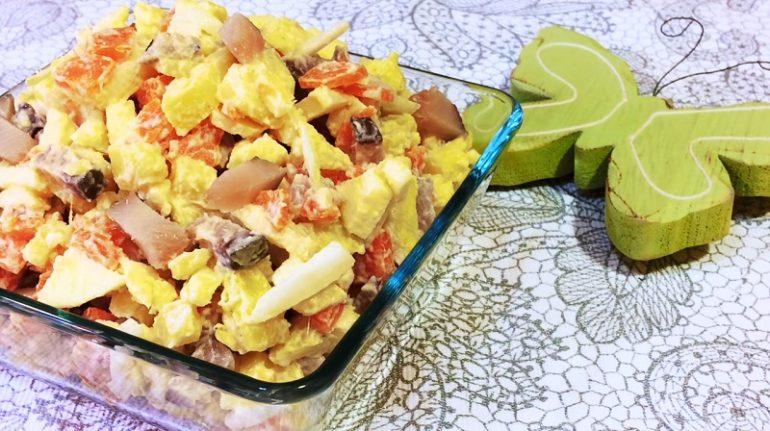 Салат на каждый день: съедается за пару минут – готовьте больше