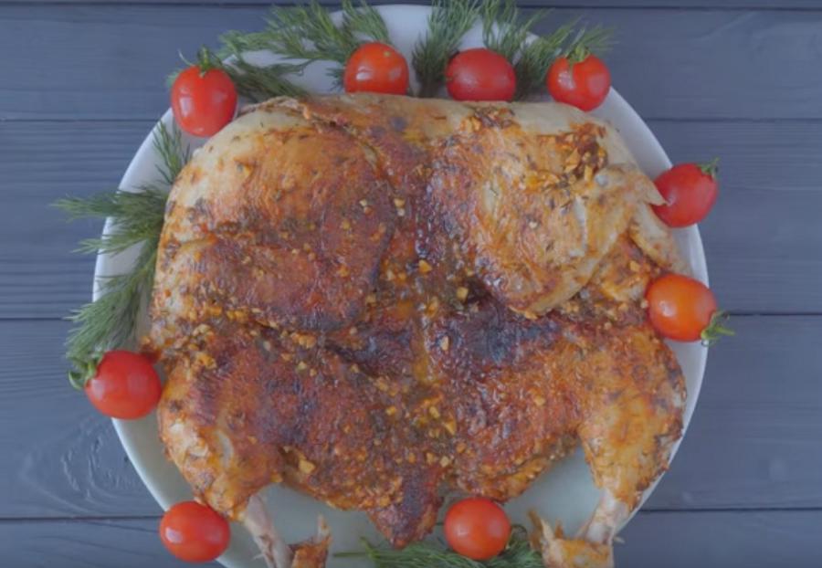 Цыпленок табака-самый вкусный рецепт