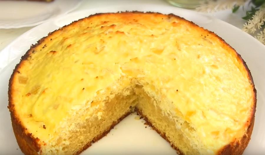 """Очень простой и вкусный пирог """"Пина Колада"""""""