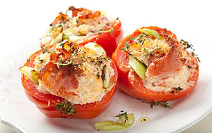 Вкуснейшие помидоры, фаршированные рикоттой