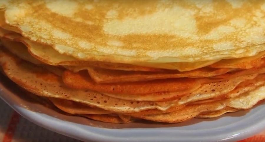Заварные блинчики на кефире-обалденное блюдо к завтраку