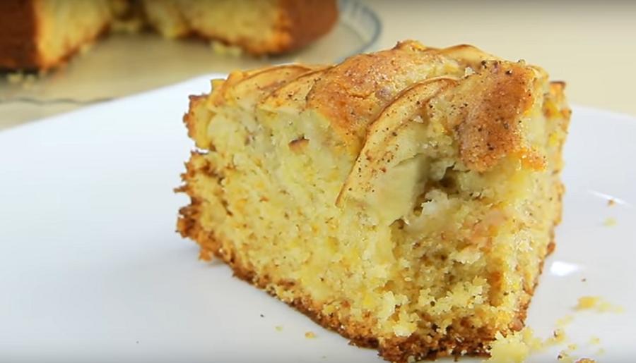 Яблочный пирог с медом и орехами: невероятная вкуснятина