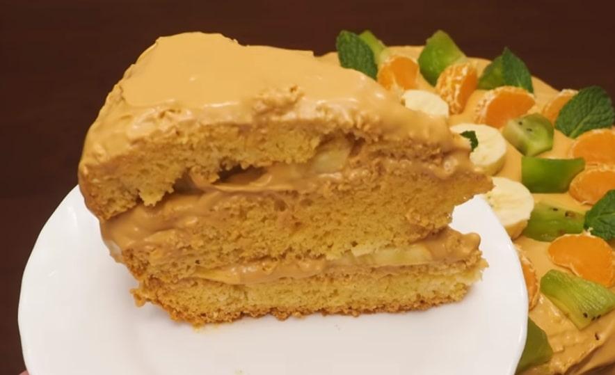 Готовим в мультиварке: обалденный торт крем-брюле