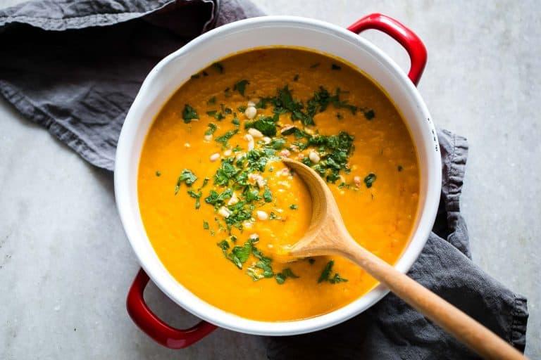 Морковно-яблочный суп-пюре: вкусное блюдо к обеду