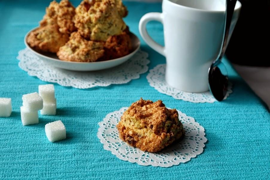 Невероятно вкусное кукурузное печенье с орехами и сухофруктами