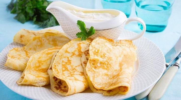 Замечательные картофельные блины: тонкие и вкусные
