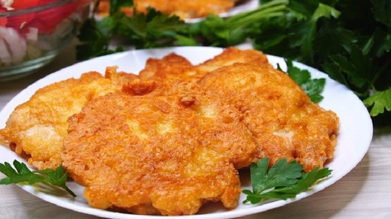 Куриное филе в сырном кляре: вкуснятина, которая понравится всем