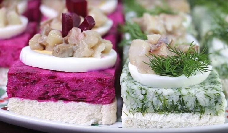 Мировая закуска из селедки: красивая, вкусная, праздничная