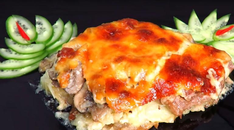 Мясо по-орловски с соусом «Бешамель»: идеальное горячее блюдо
