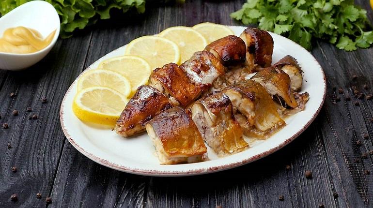 Нежная скумбрия в горчичном соусе: горячее блюдо на ужин