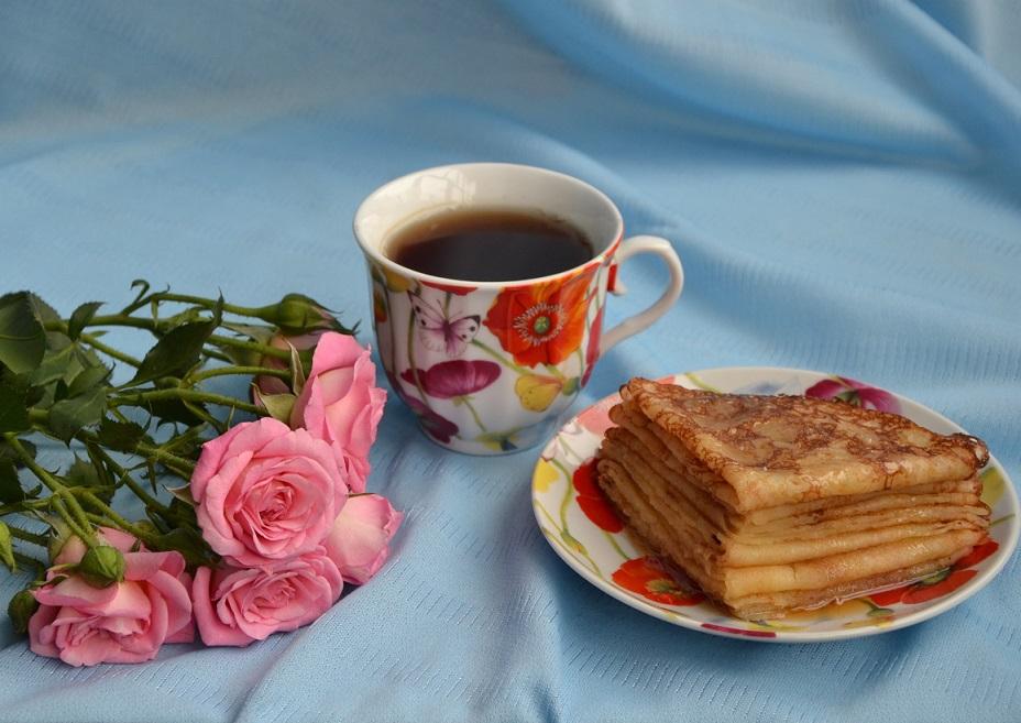 Постные чайные блины-невероятно вкусное блюдо
