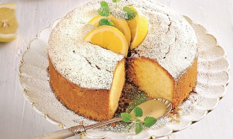 Восхитительный лимонный кекс: праздничная выпечка