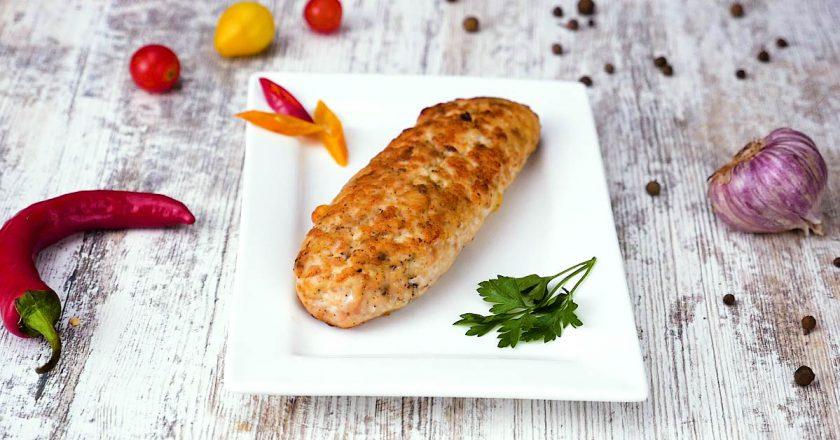 Обалденные куриные колбаски
