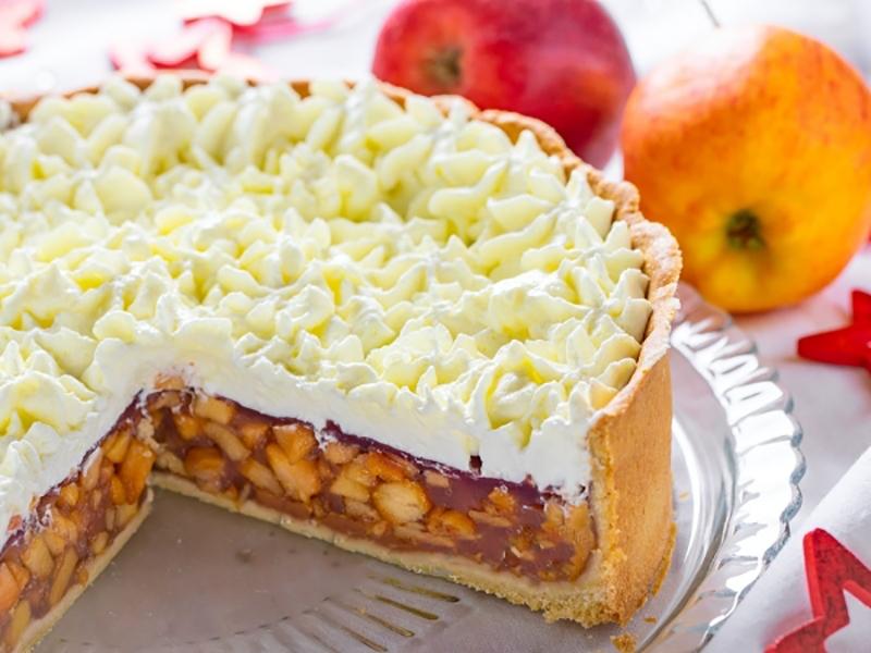 Бесподобный немецкий яблочный торт