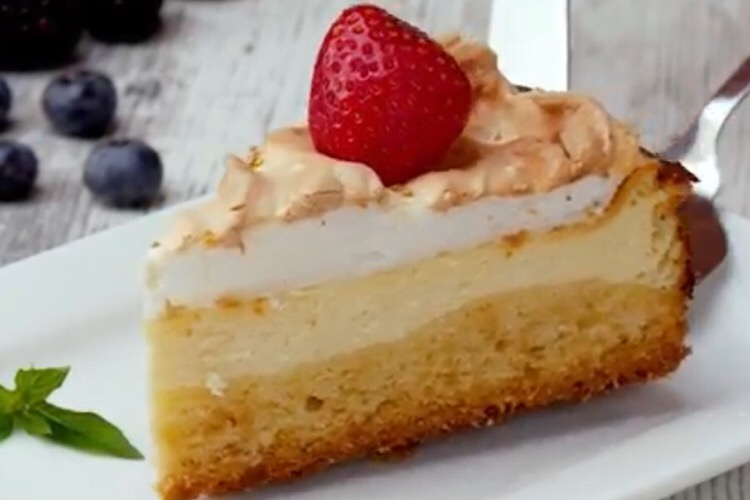 Восхитительный пирог с пудингом