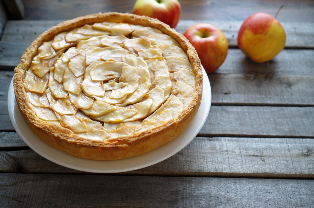 Аппетитный яблочный тарт