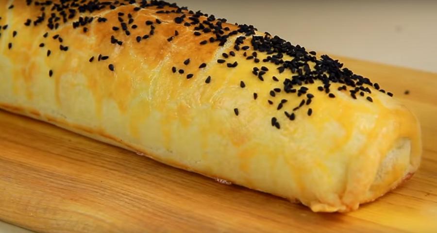 Пирог с мясом и грибами: легкое и вкусное блюдо