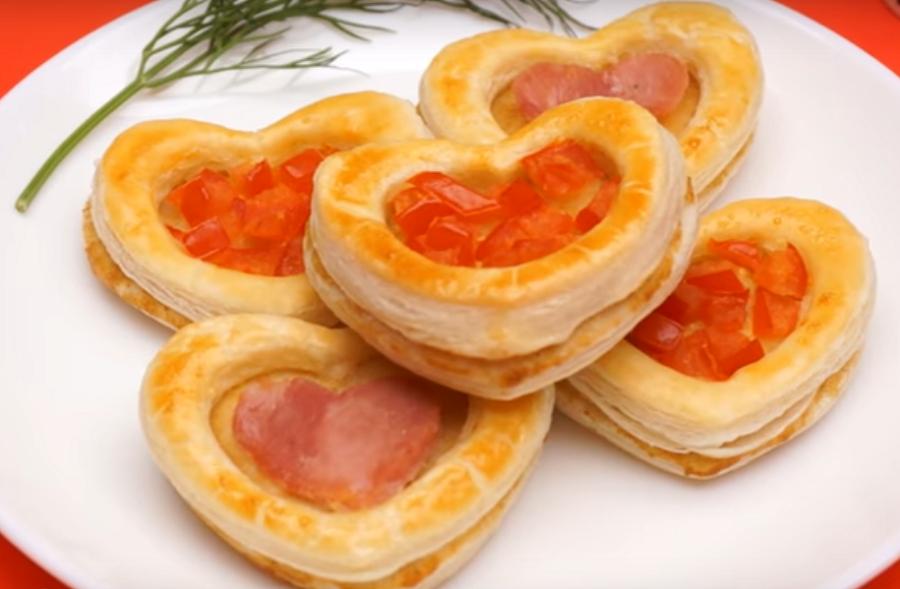 Романтическая закуска ко дню Св.Валентина