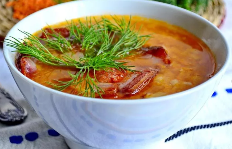 Восхитительный чечевичный суп