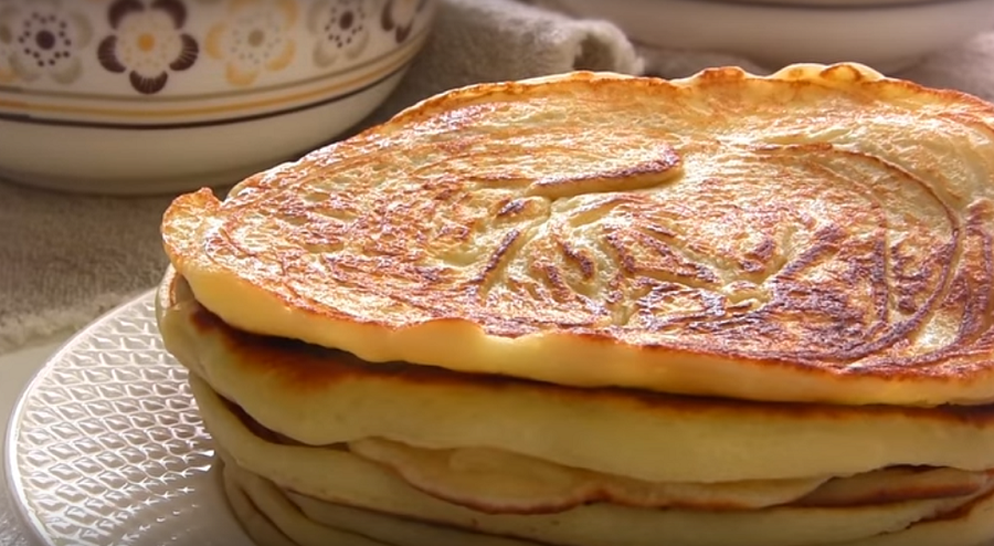 Творожные панкейки-быстрый и простой завтрак для всей семьи