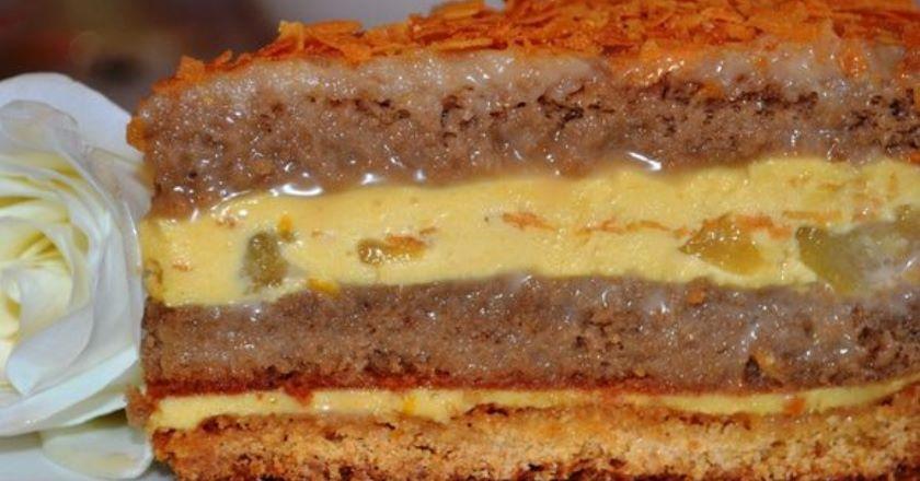 Бесподобный карамельный торт