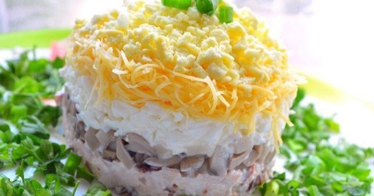 Вкуснейший салат «Белый день»: на праздник - и не только