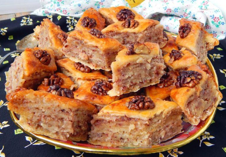 Очень вкусная медовая пахлава «Крымская»: десерт для сладкоежек