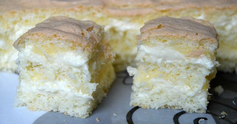 Обалденное лимонное пирожное