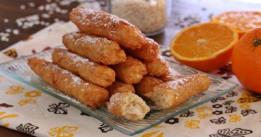 Сладкие рисовые палочки