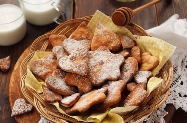 Обалденное печенье с мёдом и корицей