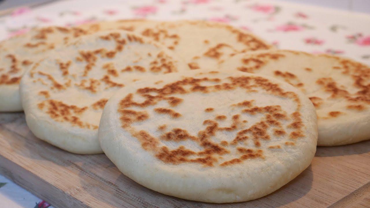 Базлама - лепешки вместо хлеба