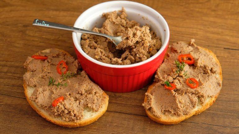 Самый лучший рецепт паштета: из куриной печени и моркови