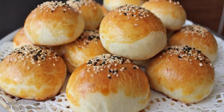Турецкие булочки с начинкой: вкусные и мягкие