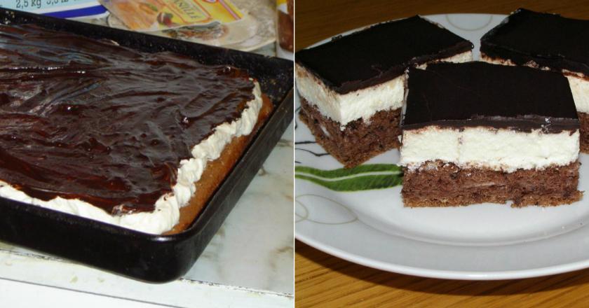 Отменный шоколадный бисквитный торт