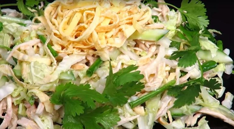 Японский салат «Самурай»: украдет ваше сердце